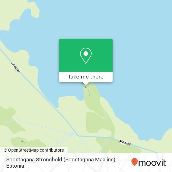 Карта Soontagana Stronghold (Soontagana Maalinn)