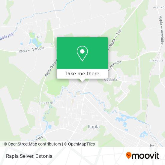 Rapla Selver map