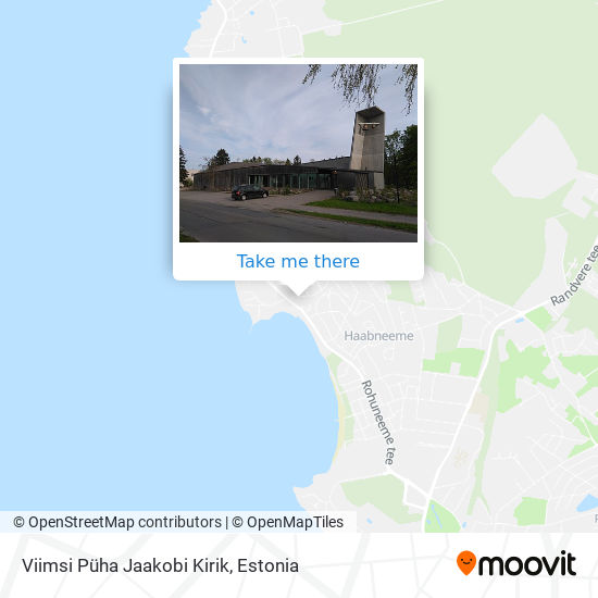 Viimsi Jaakobi Kirik map