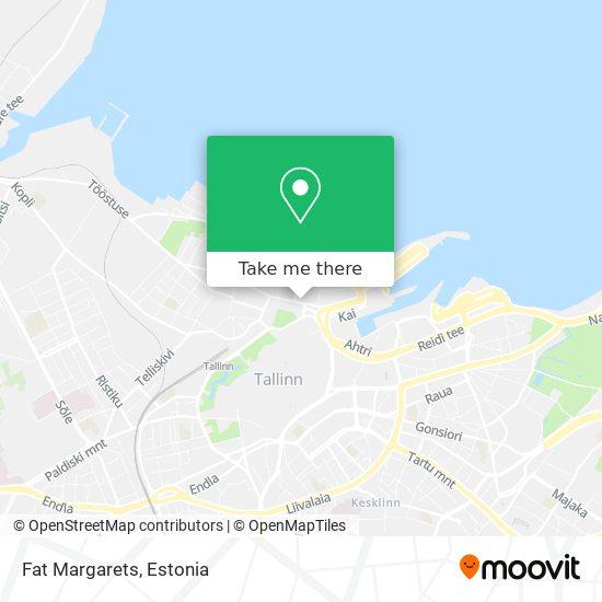 Fat Margaret map
