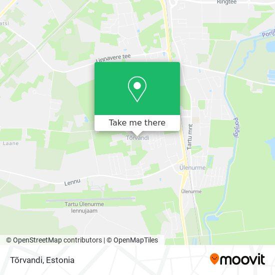 Tõrvandi map