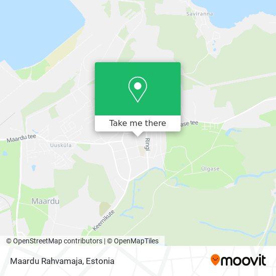 Maardu Rahvamaja map