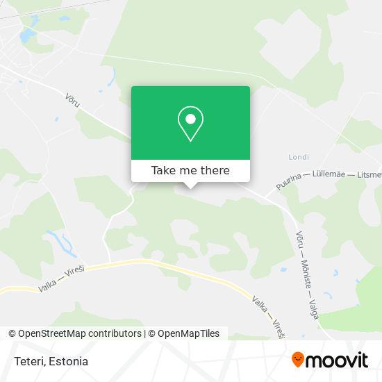 Teteri map