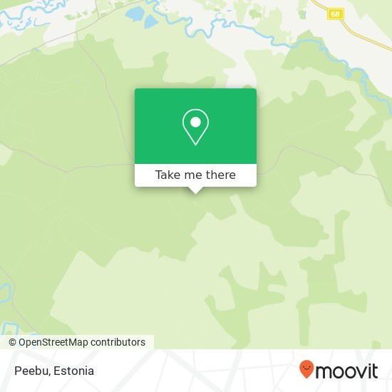 Peebu map