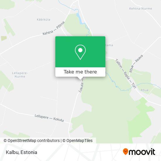 Kalbu map