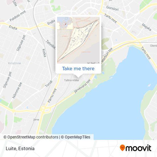 Luite map