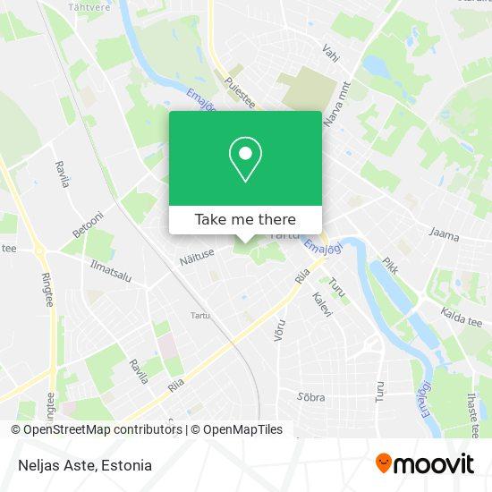 Neljas Aste map