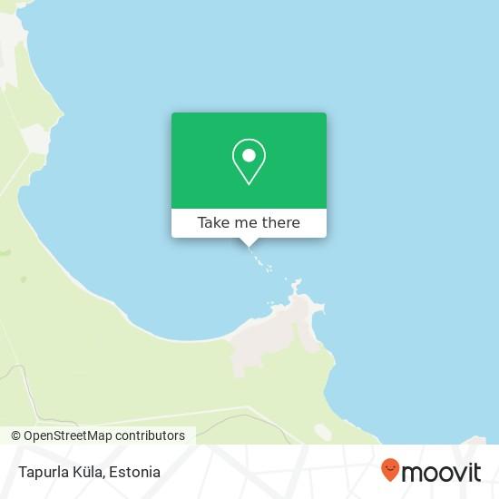 Tapurla Küla map