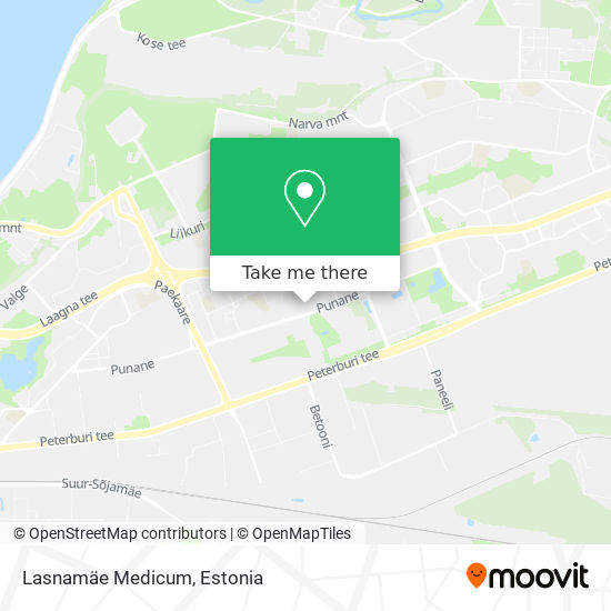 Lasnamae Medicum (Polikliinik) map
