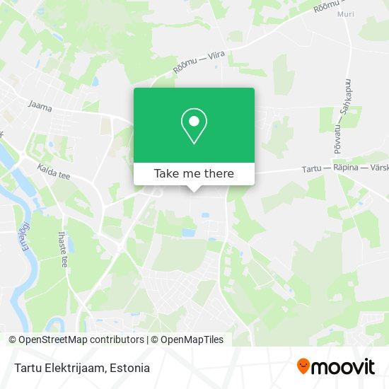 Tartu Elektrijaam map