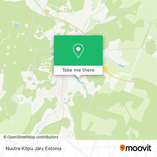 Nuutre-Kõpu Järv map