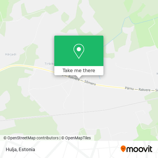 Hulja map