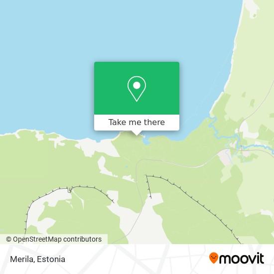 Merila map