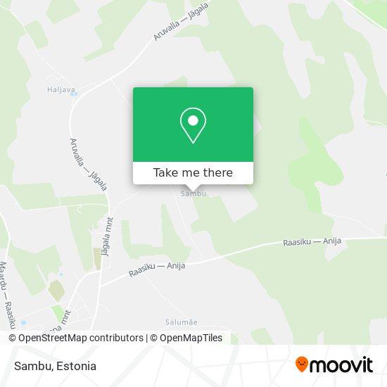 Карта Sambu