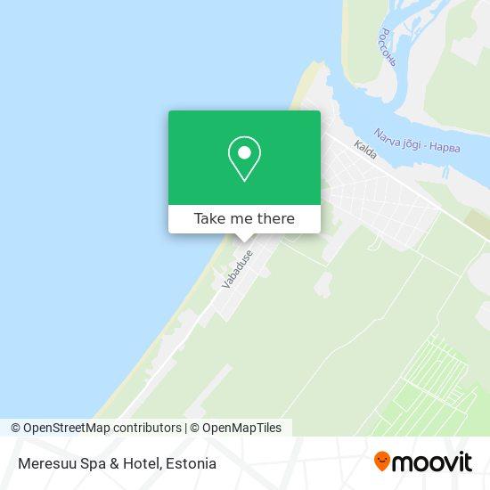 Meresuu Spa & Hotel map