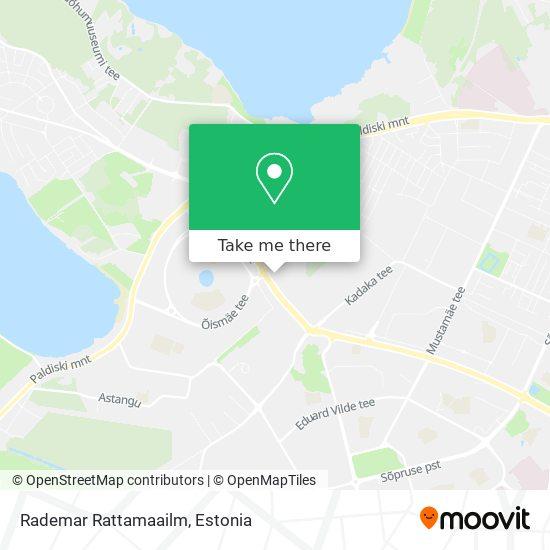 Rademar Rattamaailm map