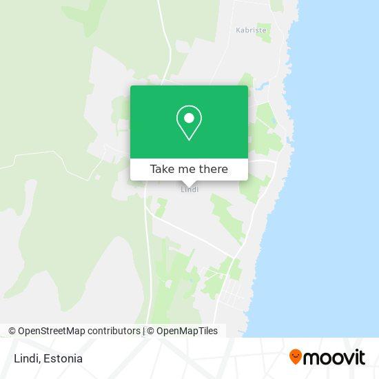 Lindi map