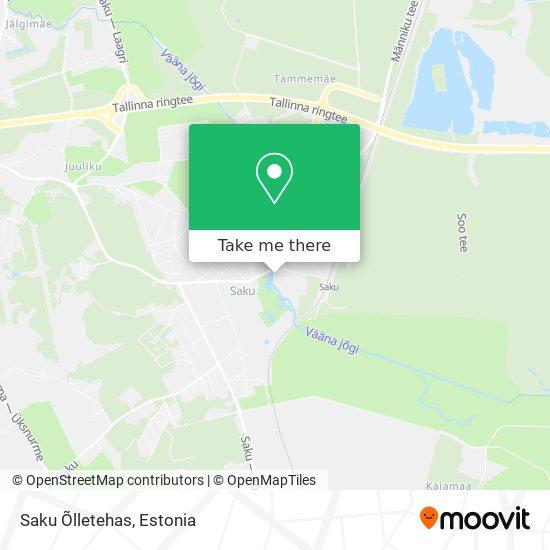 Saku Õlletehas map