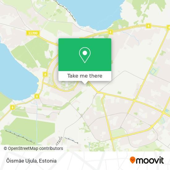 Õismäe Ujula map