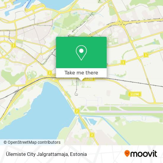 Ülemiste City Jalgrattamaja map