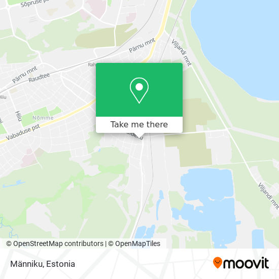 Männiku map