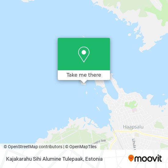 Kajakarahu Liitsihi Alumine Tulepaak map