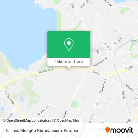 Tallinna Mustjõe Gümnaasium map