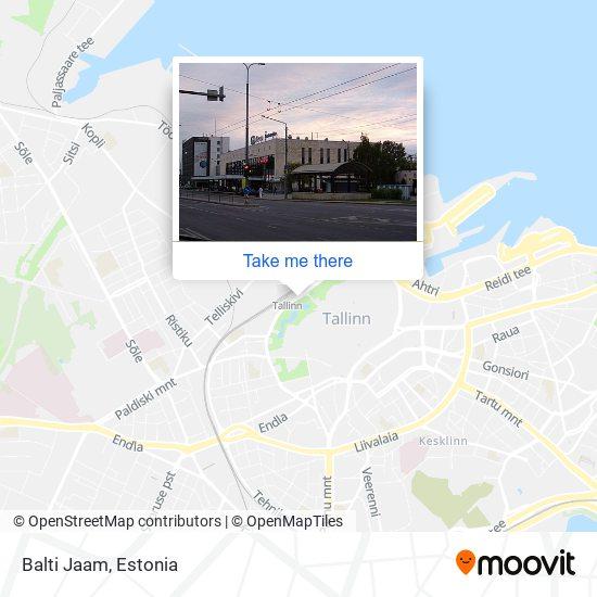 Balti Jaam map