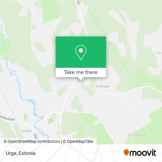 Urge map