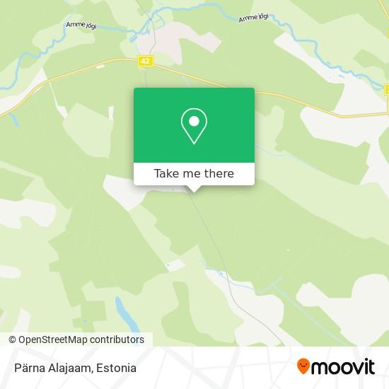 Pärna Alajaam map