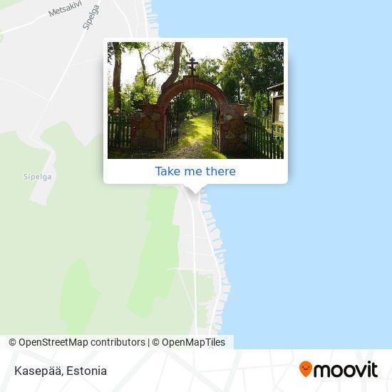 Kasepää map
