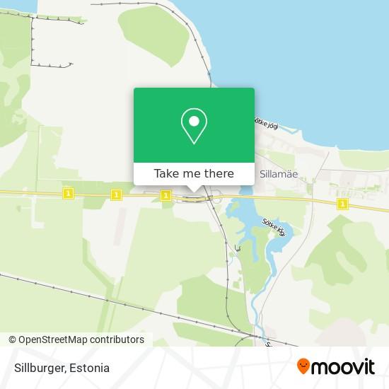 Sillburger map