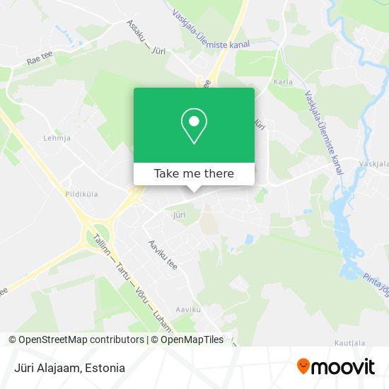 Jüri Alajaam map