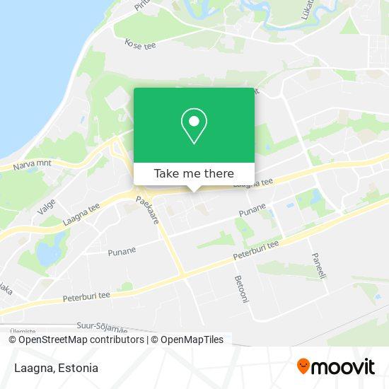 Laagna map