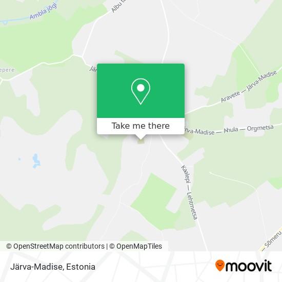 Järva-Madise map