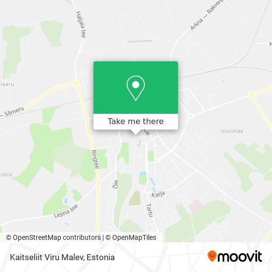 Kaitseliit Viru Malev map