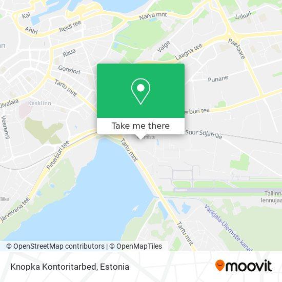 Knopka Kontoritarbed map