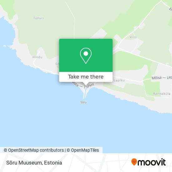 Sõru Muuseum map