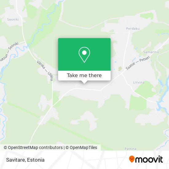 Savitare map