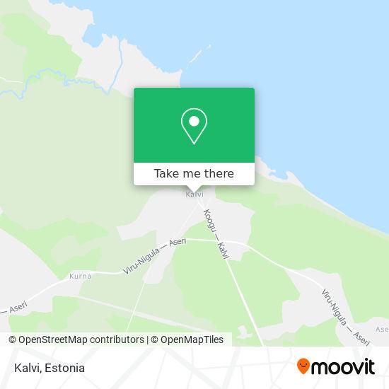 Kalvi map