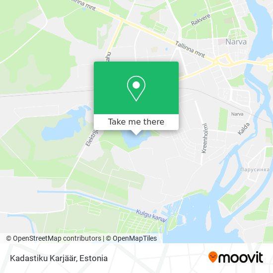 Kadastiku Karjäär map
