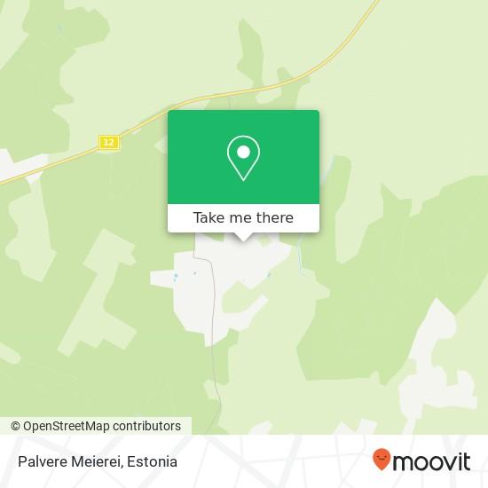 Palvere Meierei map