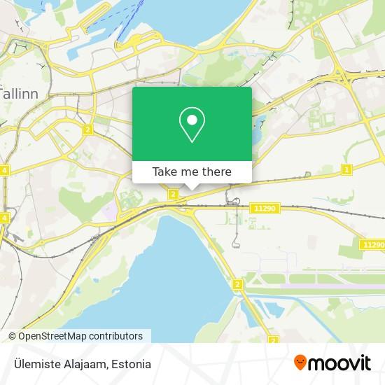 Ülemiste Alajaam map