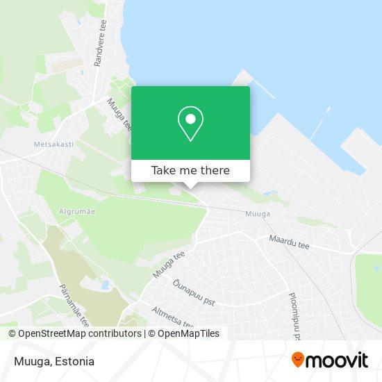 Muuga map