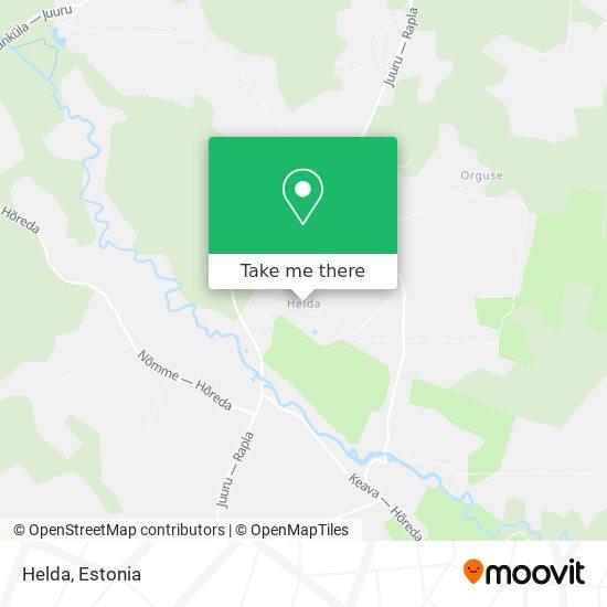 Helda map
