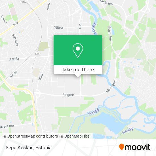 Sepa Keskus map
