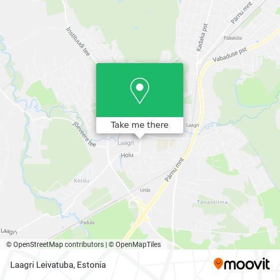 Laagri Leivatuba map