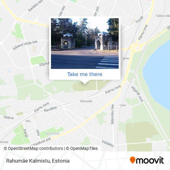 Rahumäe Kalmistu map