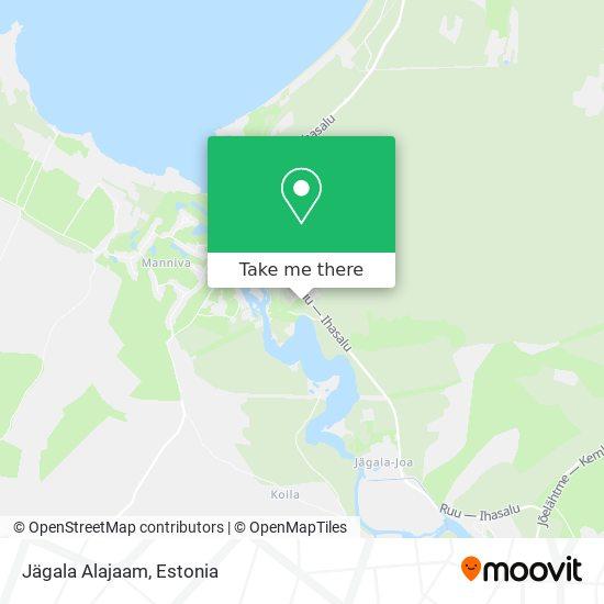 Jägala Alajaam map