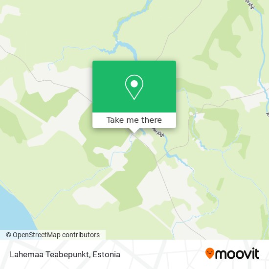 Lahemaa Information Centre map